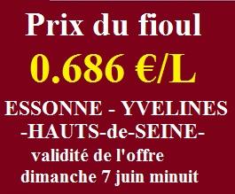 Le prix du fioul enfin en dessous de 700 € pour mille litres
