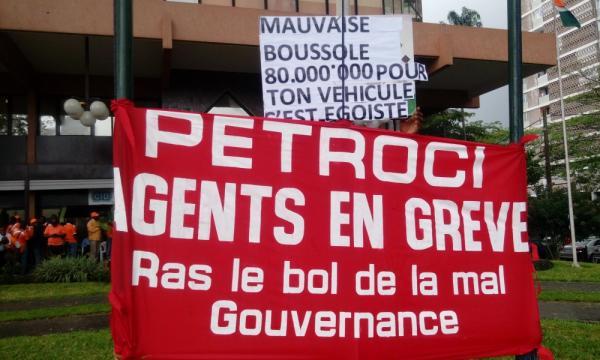 Grève illimitée au sein de l'entreprise pétrolière publique ivoirienne