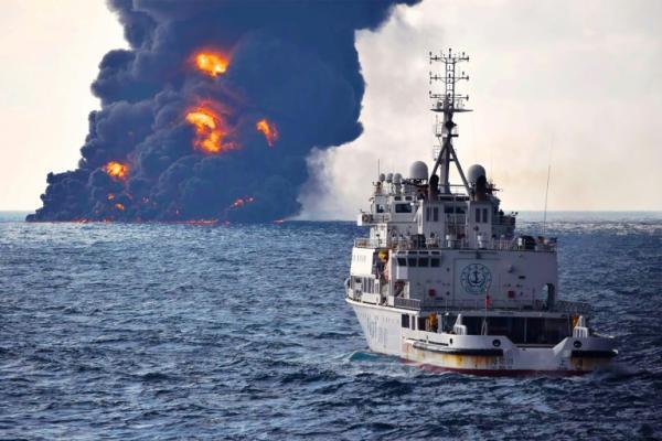 Naufrage et catastrophe écologique en Chine